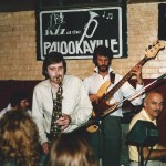 Palookaville 1989 L-R Mick Kirby, Dave Crabtree, Peter Giles, Al Kirtley