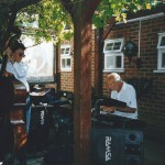 The Brickmakers, Windlesham Jazz Day c1997. Terry Davis, Al Kirtley