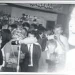 Potters Arms 1970: view from the stage (Monty just in shot on right)