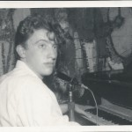 A teenage Zoot Money at the Downstairs Club, probably 1961, prior to the forming of the Big Roll Band.