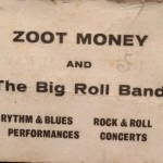 Business card of the original Big Roll Band (with thanks to Dave Hayes).
